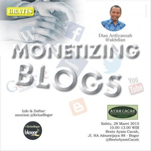monetizing blogs