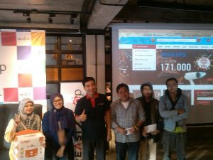 Pemenang doorprize saat grand launching